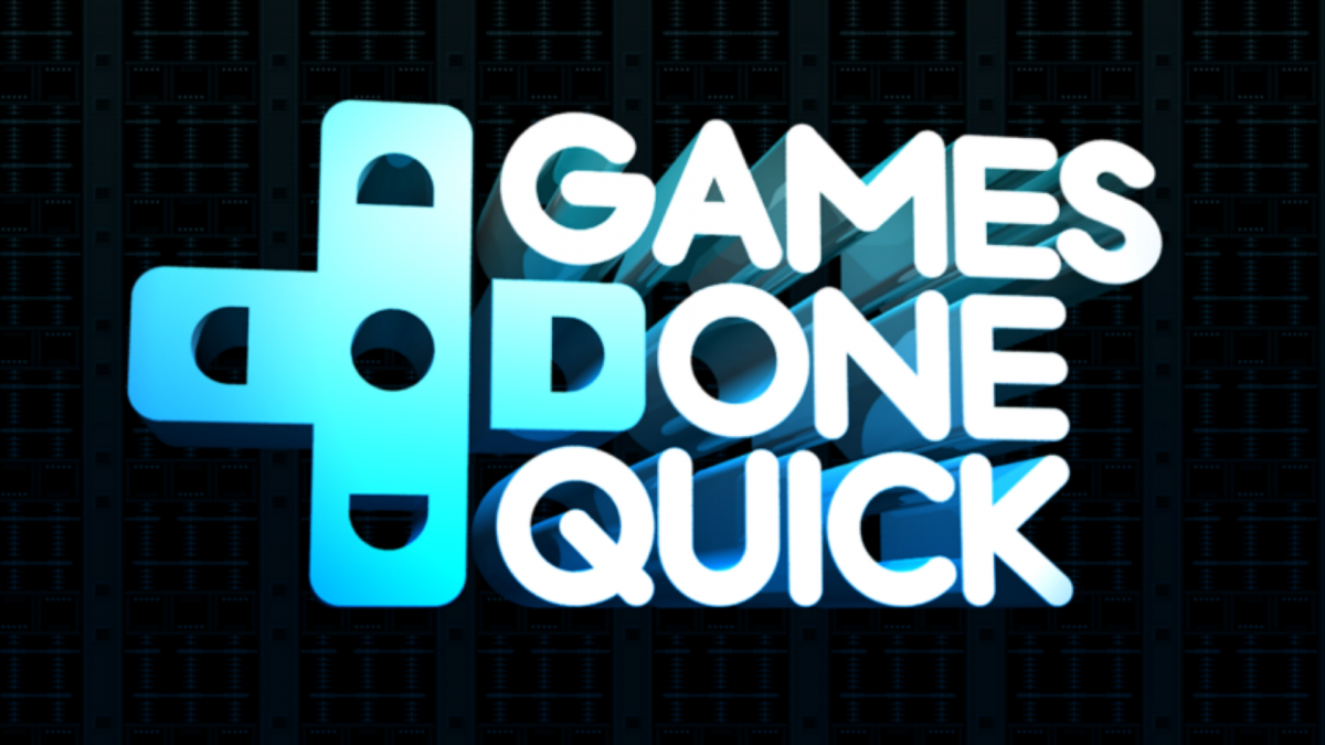 AGDQ - front page
