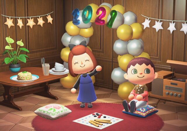 Animal Crossing: New Horizons nouvel an