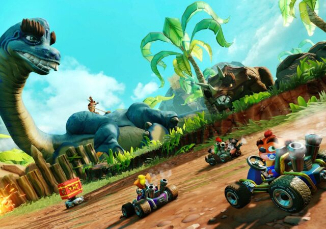 Crash Team Racing Nitro-Fueled - du rififi sur les circuits