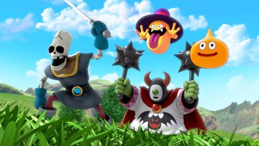Dragon Quest Tact - les monstres sont prêts à combattre