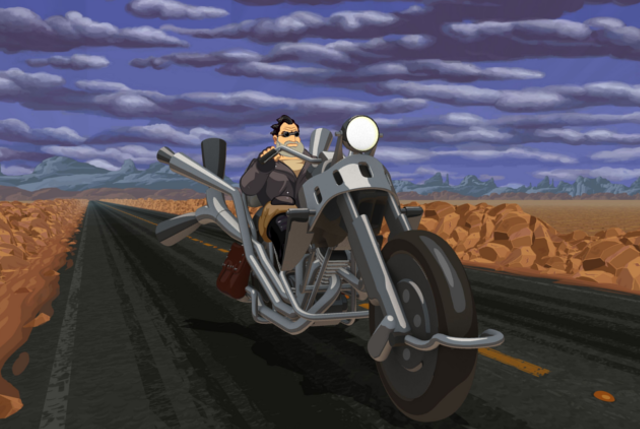 Full Throttle illustration moto