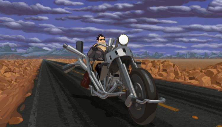 Full Throttle illustration moto
