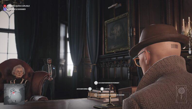Hitman 3 enquête Agatha Christie