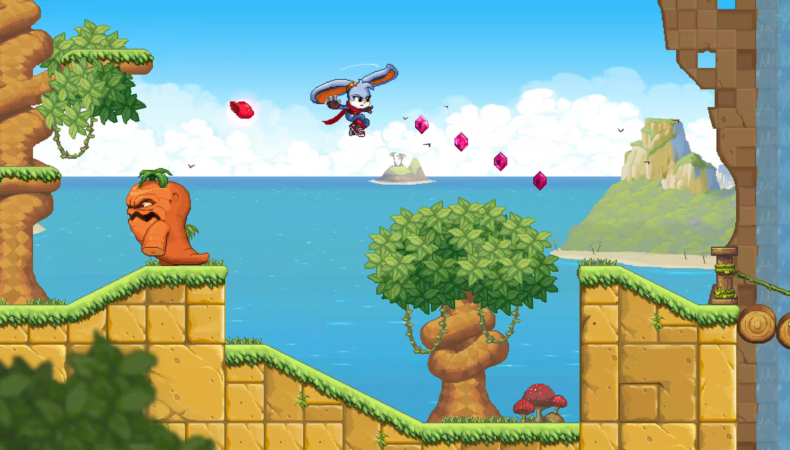 Kaze and the Wild Masks - Fly like Rayman