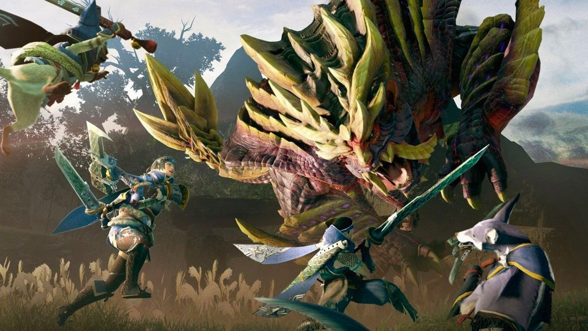 Monster Hunter Rise sur Switch