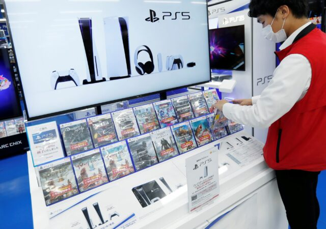 Vente de PlayStation 5 au Japon