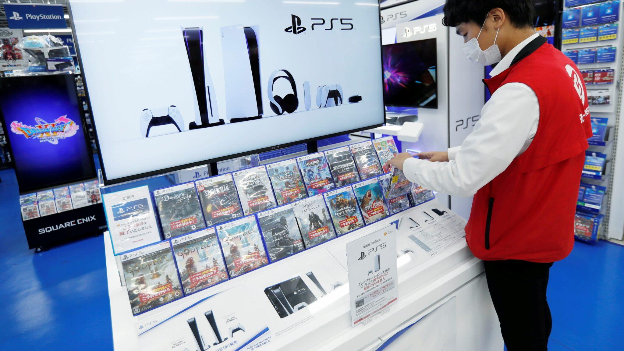 Vente de PlayStation 5 au Japon