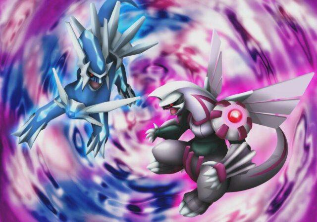 Pokémon Diamant et Perle - Palkia et Dialga Combat