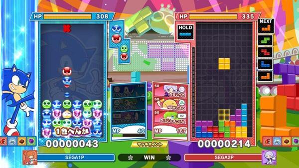 Puyo Puyo Tetris 2 se met à jour avec Sonic