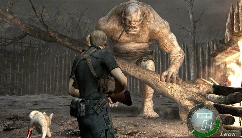 Resident Evil 4 géant