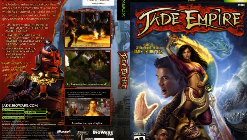 Revolver - Jade Empire
