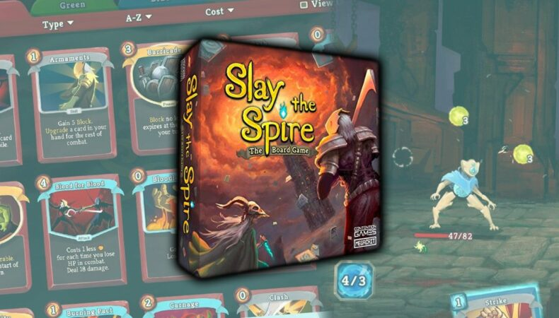Slay the Spire - the board game