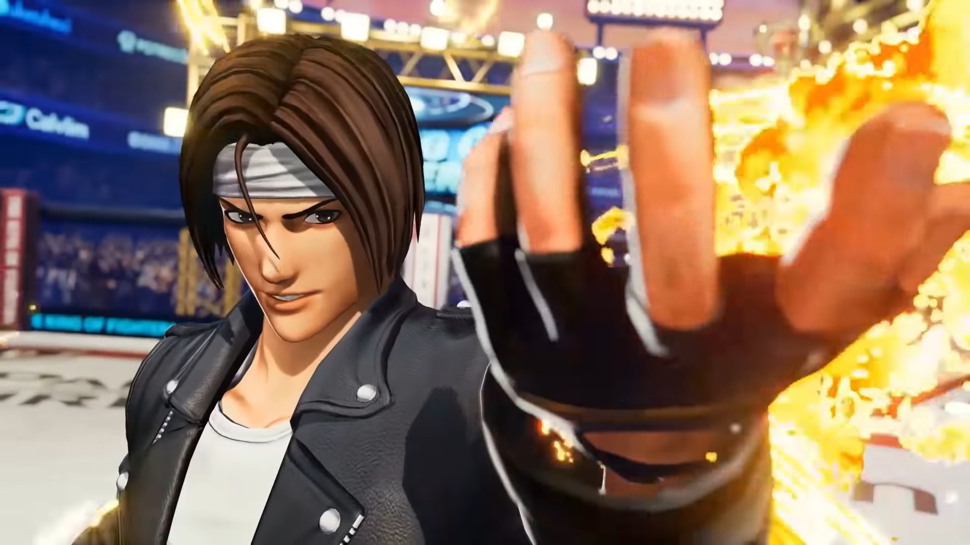 The King of Fighters XV - Kyo