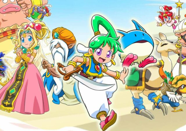 Wonder Boy: Asha in Monster World précise sa date de sortie japonaise