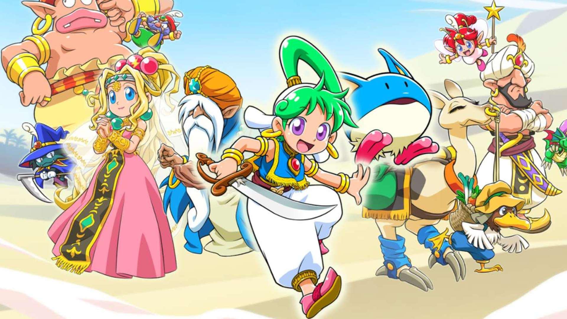 Wonder Boy: Asha in Monster World précise sa date de sortie japonaise