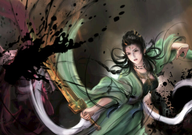 Xuan-Yuan Sword VII Green Lady
