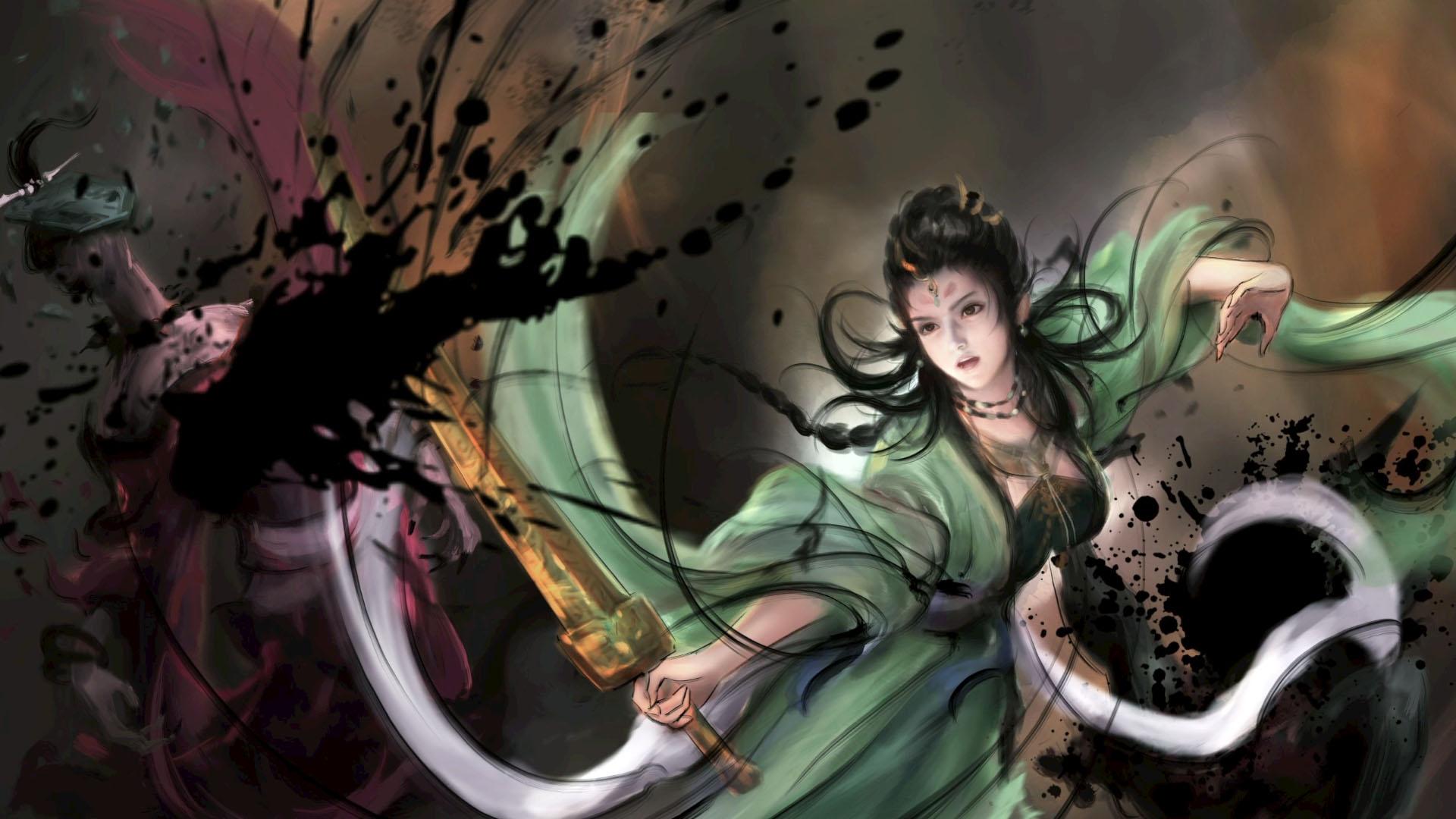 Xuan-Yuan Sword VII Green Lady
