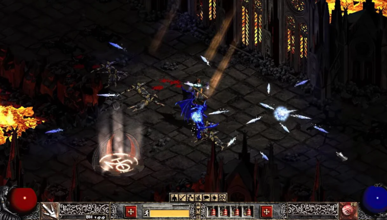 Diablo 2 combat