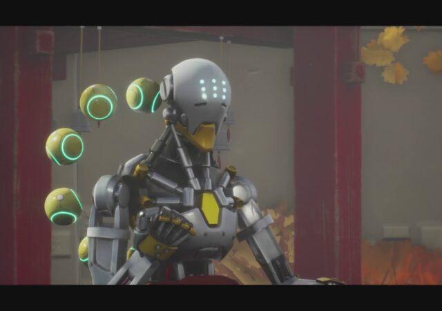 Overwatch Animation Zenyatta