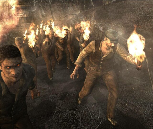 Resident Evil 4 villageois