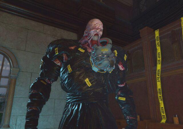 Resident Evil Re:Verse nemesis