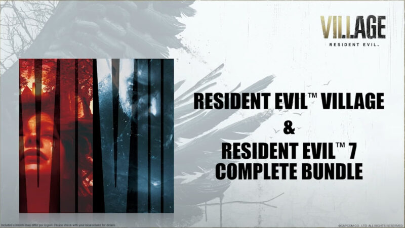 Resident Evil Village bundle