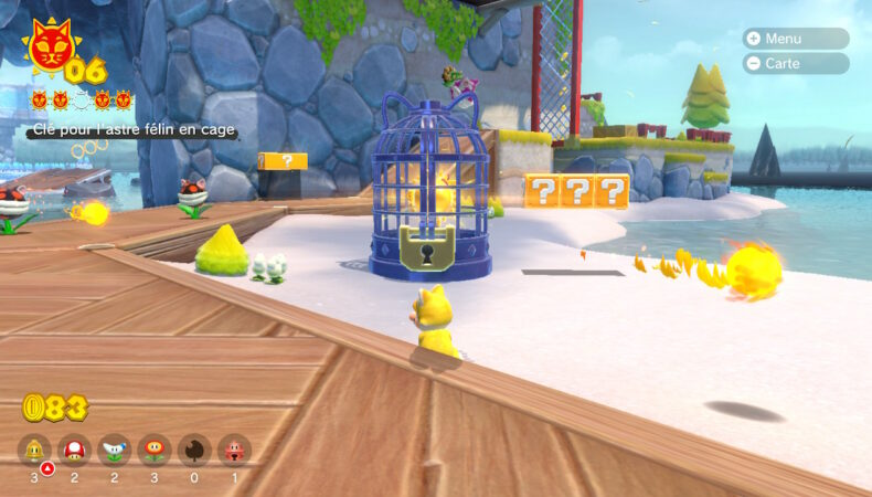 Super Mario 3D World + Bowser's Fury cage