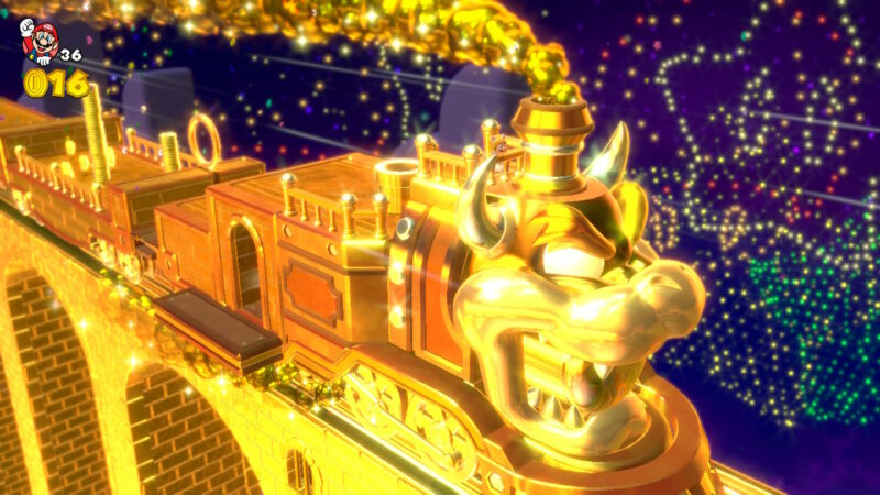 Super Mario 3D World + Bowser's Fury niveau caché