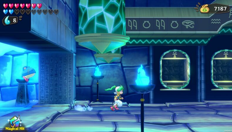 Wonder Boy Asha Monster World screen capture
