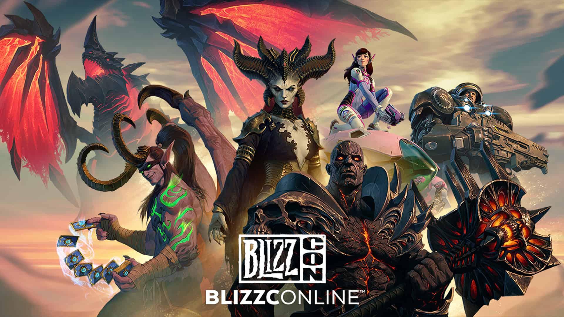 Blizzcon Blizzconline Blizzard 2021