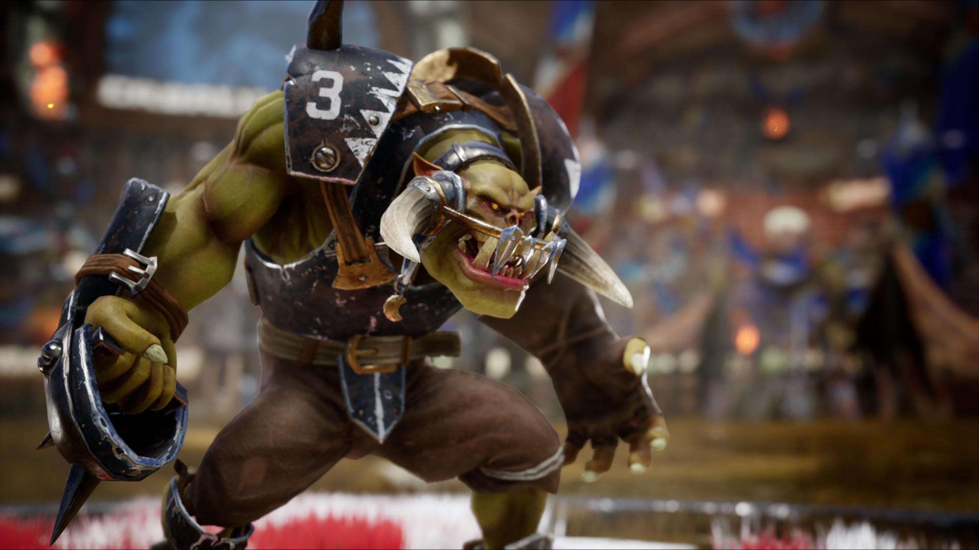 Orc Blood Bowl 3