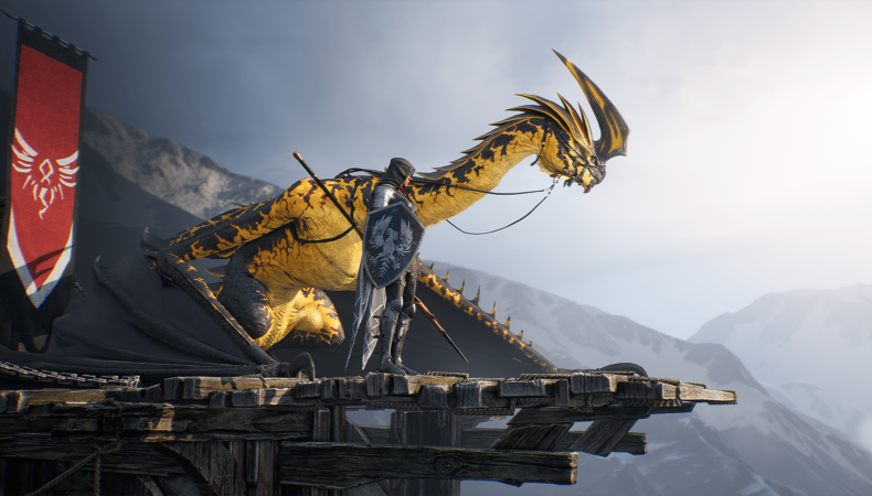 Century Age of Ashes dragon brisegarde