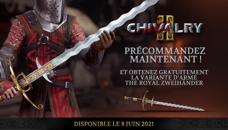 Chivalry II - Royal Zweihänder