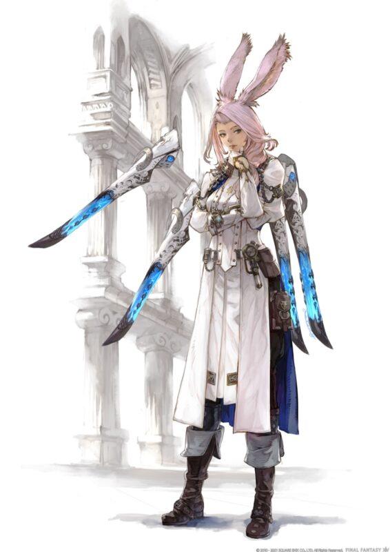 Final Fantasy XIV Endwalker - Sage viera