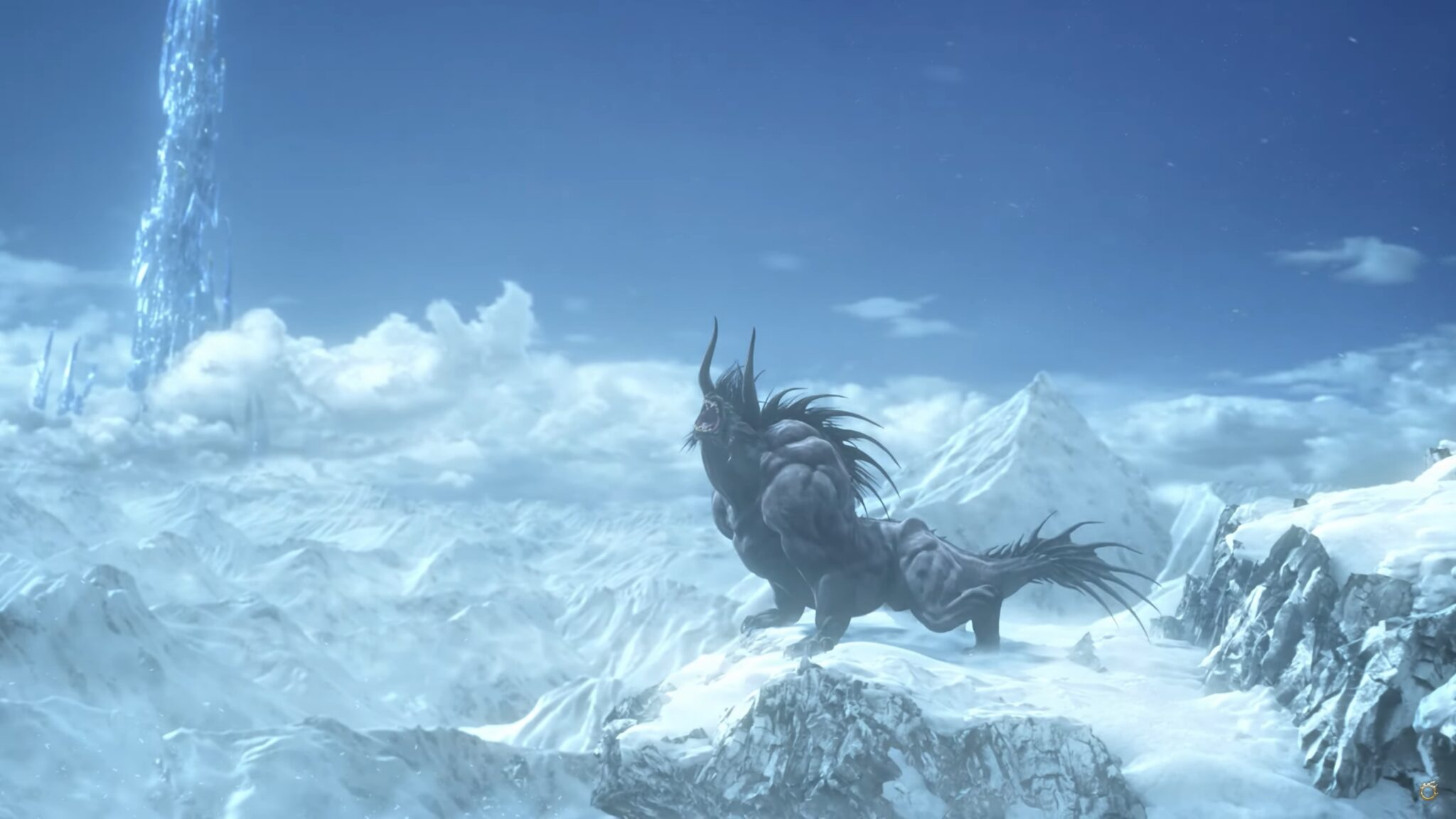 Final Fantasy XIV - behemot