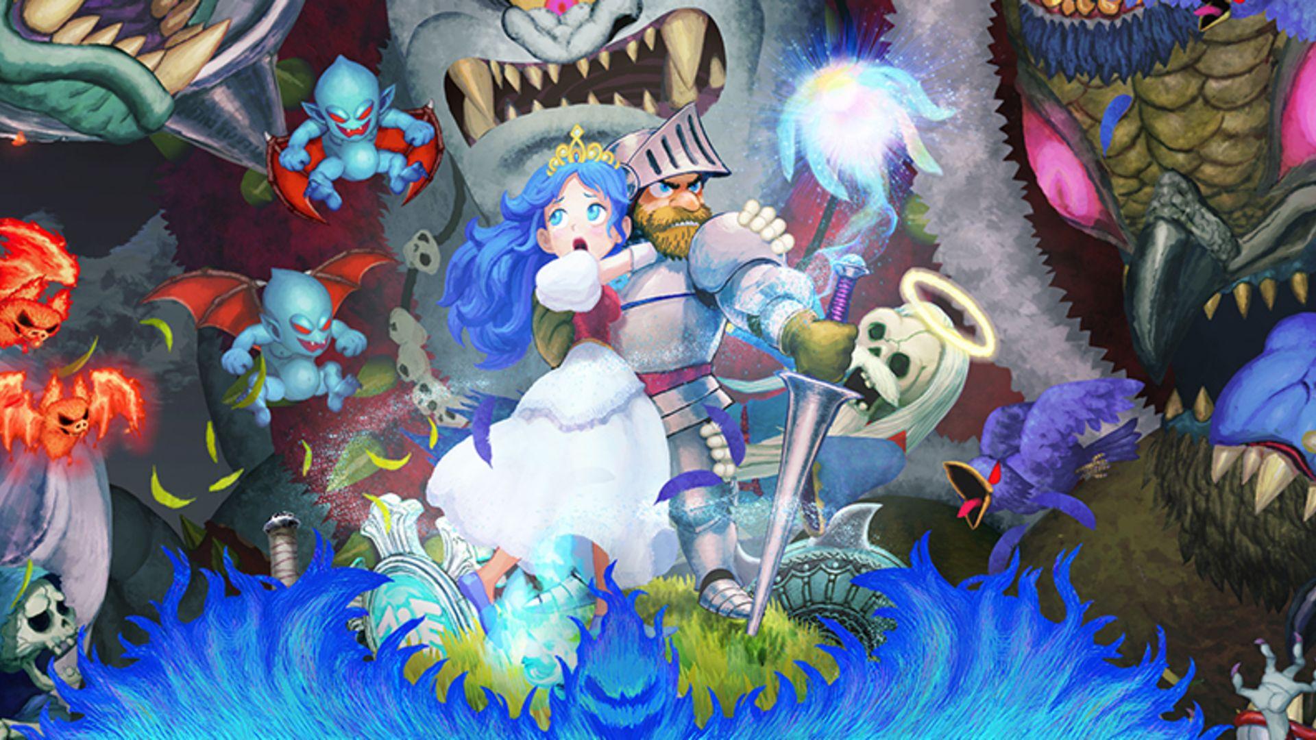 Ghosts'n Goblins Resurrection artwork