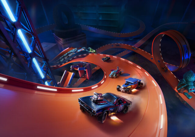 Hot Wheels Unleashed keyart voitures