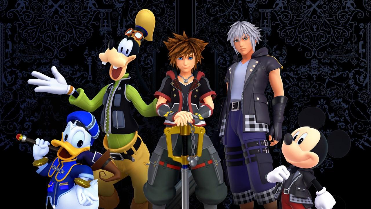 Kingdom Hearts - Fine équipe