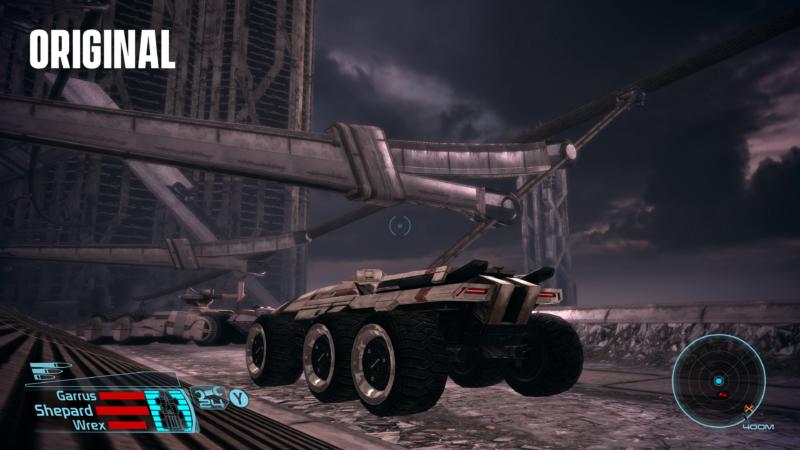 Mass Effect Édition Légendaire comparaison Féros