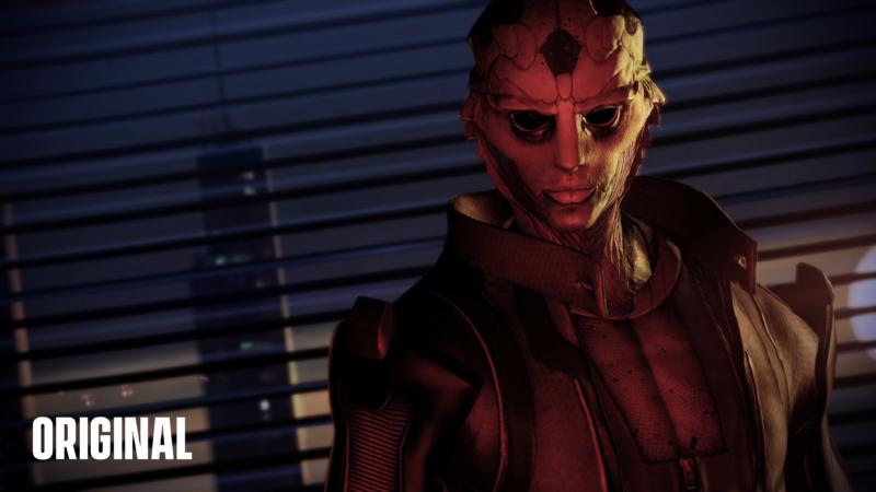 Mass Effect Édition Légendaire comparaison Thane