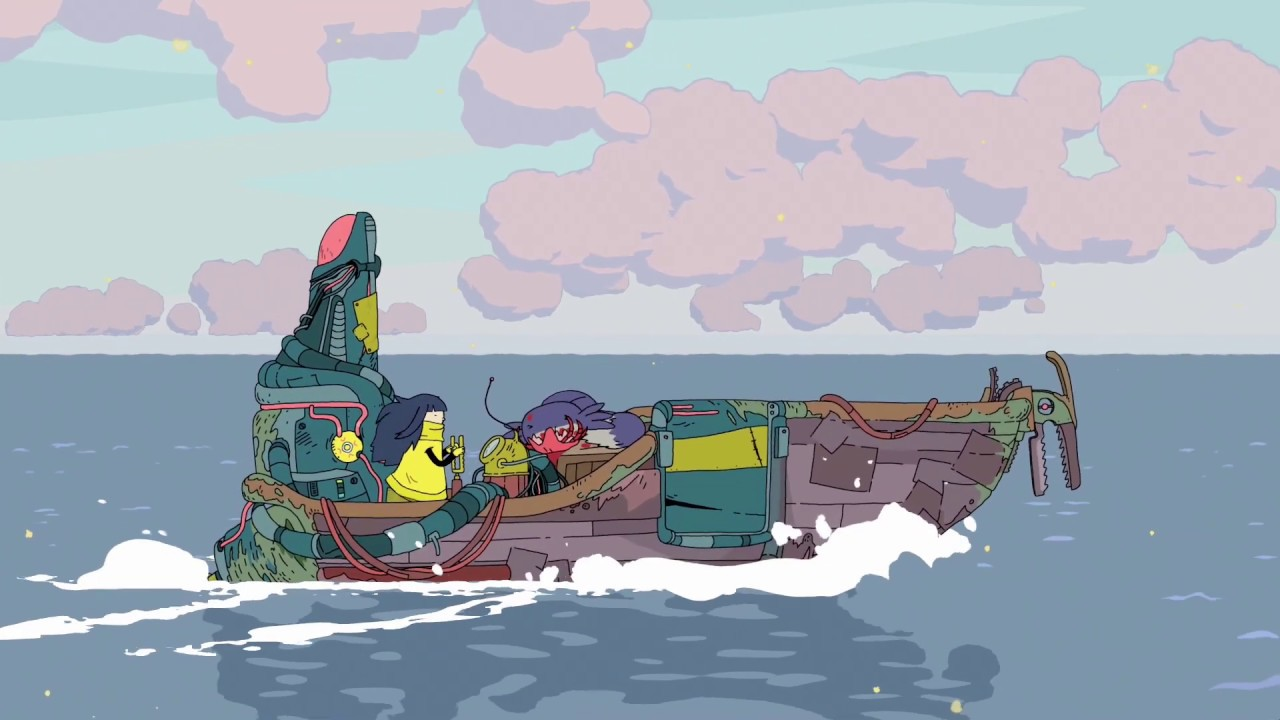 Minute of Islands bateau