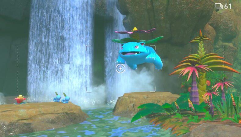 New Pokémon Snap florizarre