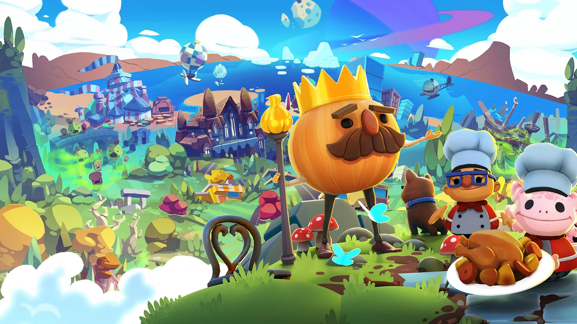 Overcooked! All You Can Eat art