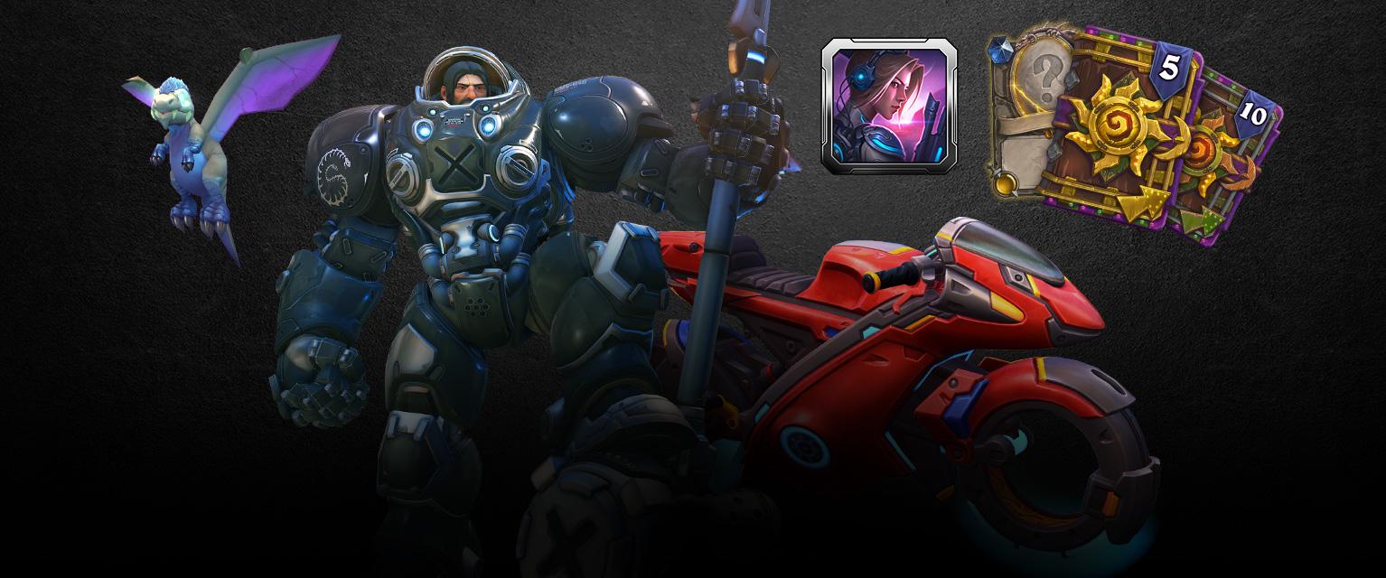 Blizzard célèbre son trentième anniversaire avec des packs