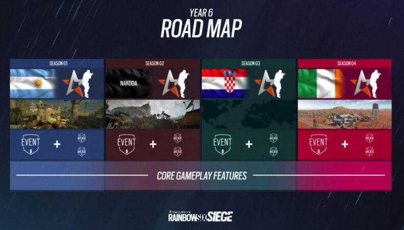 Rainbow Six Siege dévoile sa roadmap pour l'année 6