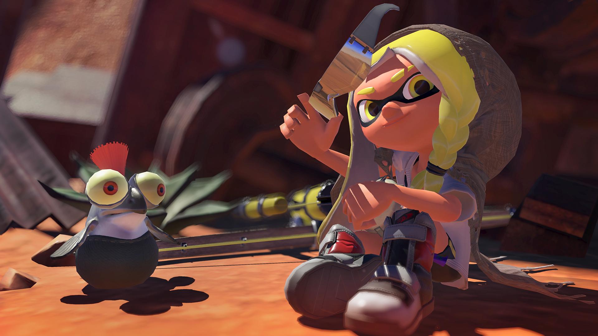 Annonce du jeu Splatoon 3 sur Nintendo Switch