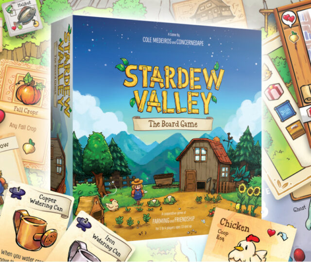 Stardew Valley the Board Game