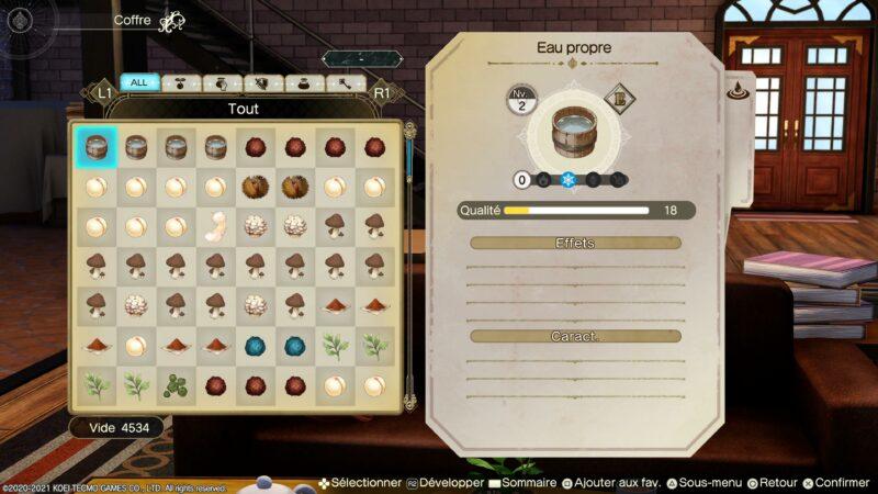Atelier Ryza 2 - récolte