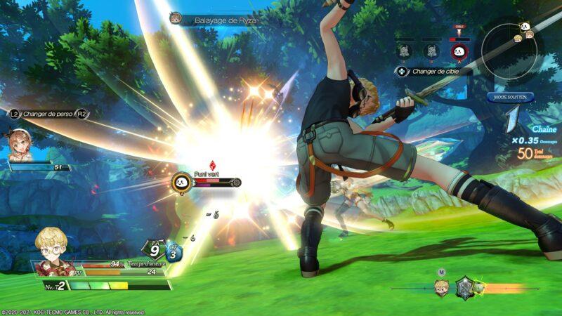 Atelier Ryza 2 - combat tao