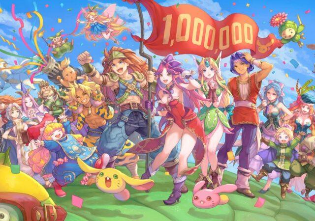 Trials of Mana artwork million
